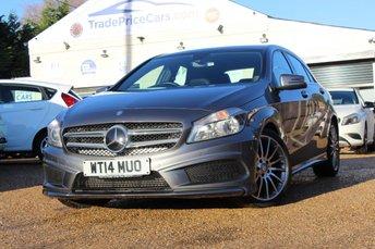 2014 MERCEDES-BENZ A CLASS 1.5 A180 CDI BLUEEFFICIENCY AMG SPORT 5d AUTO 109 BHP £13950.00