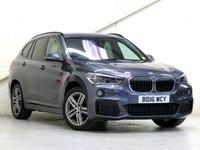 2016 BMW X1 2.0 XDRIVE20D M SPORT 5d AUTO 188 BHP £21458.00