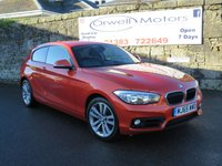 USED 2015 65 BMW 1 SERIES 2.0 118D SPORT 3d 147 BHP FULL BMW SERVICE HISTORY+1 OWNER