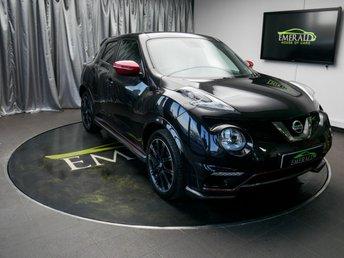 2015 NISSAN JUKE 1.6 NISMO RS DIG-T 5d 218 BHP £9600.00
