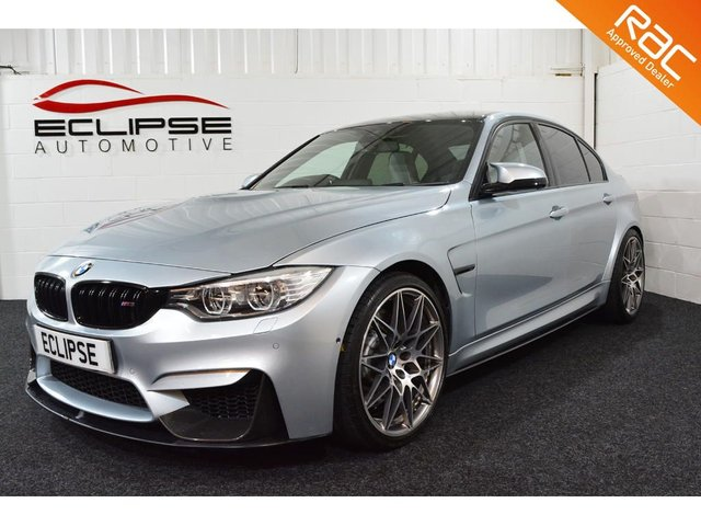 2016 16 BMW M3 3.0 M3 COMPETITION PACKAGE 4d AUTO 444 BHP