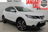 USED 2014 14 NISSAN QASHQAI 1.5 DCI TEKNA 5DR FREE ROAD TAX SAT NAV FULL SERVICE HISTORY FULL SERVICE HISTORY + FREE 12 MONTHS ROAD TAX + HEATED LEATHER SEATS + SATELLITE NAVIGATION + 360 DEGREE CAMERA + PANORAMIC ROOF + BLUETOOTH + CRUISE CONTROL + CLIMATE CONTROL + DAB RADIO + MULTI FUNCTION WHEEL + 19 INCH ALLOY WHEELS