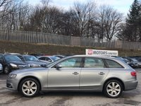 USED 2008 58 AUDI A4 2.0 TDI SE Multitronic 5dr FLYWHEEL CHANGED/ISOFIX