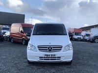 USED 2014 14 MERCEDES-BENZ VITO 2.1 116 CDI 163 BHP XLWB EXTRA LONG RARE XLWB, 163 BHP, ONE OWNER FROM NEW, DEALER HISTORY