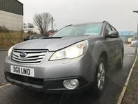 USED 2011 11 SUBARU OUTBACK 2.0 D SE NAVPLUS 5d 150 BHP