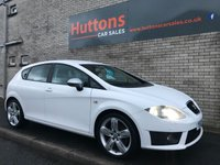 2012 SEAT LEON 2.0 CR TDI FR PLUS 5d 168 BHP £SOLD