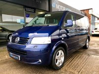USED 2007 07 VOLKSWAGEN CARAVELLE 2.5 EXECUTIVE TDI 5d 174 BHP Heated Leather seats, rear park sensors
