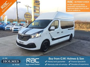 2016 RENAULT TRAFIC H2 L2 MOTORHOME / CAMPERVAN 3 BERTH **SHOWER & TOILET UNIT** £26995.00