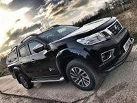 2018 NISSAN NP300 NAVARA TEKNA 2.3 DCi 190 BHP AUTO DOUBLE CAB + HARD TOP £25990.00