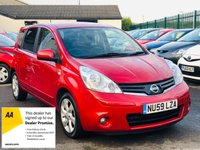 USED 2009 59 NISSAN NOTE 1.4 N-TEC 5dr