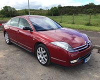 USED 2007 07 CITROEN C6 2.7 EXCLUSIVE V6 HDI 4d 202 BHP 6 MONTHS PARTS+ LABOUR WARRANTY+AA COVER