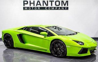 2015 LAMBORGHINI AVENTADOR 6.5 V12 2d AUTO 691 BHP £224990.00