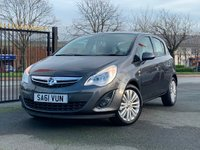 USED 2011 61 VAUXHALL CORSA 1.2 i 16v Excite 5dr Finance Avalable