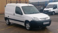 2003 PEUGEOT PARTNER 1.9 L 600 D 1d 69 BHP NO VAT TO ADD OLD PART X VAN DINGS AND DONGS ON THIS VAN ALL OVER MOT 05/09/2019 NO VAT TO ADD/ £690.00