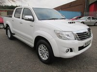 USED 2016 16 TOYOTA HI-LUX ICON Double Cab 2.5 D-4D 144 4x4 Pickup *AIR CON + REAR CAMERA* BLUETOOTH - AIR CON - PRIVACY GLASS