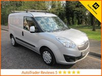 USED 2014 64 VAUXHALL COMBO 1.2 2000 L1H1 CDTI S/S SPORTIVE 1d 90 BHP Fantastic Value Vauxhall Combo Sprotive Van with Air Conditioning, Electric Windows, Electric Door Mirrors, Side Loading Door and Vauxhall Service History