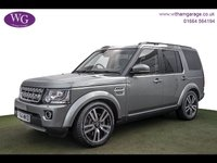 2015 LAND ROVER DISCOVERY 3.0 SDV6 HSE LUXURY 5d AUTO 255 BHP £30995.00