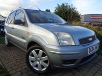 USED 2004 54 FORD FUSION 1.4 FUSION PLUS 5d AUTO 80 BHP **Taken In Part Exchange Rear Entertainment Ford DVD December 2019 Mot**