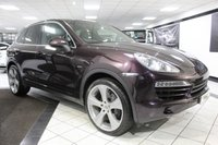 USED 2012 12 PORSCHE CAYENNE 3.0 D V6 TIPTRONIC 245 BHP PAN ROOF FPSH 1 FORMER 22'S