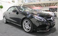 USED 2013 63 MERCEDES-BENZ E CLASS 2.1 E220 CDI AMG SPORT 2d AUTO 170 BHP LED LIGHT SYSTEM+DAB+H/LEATHER