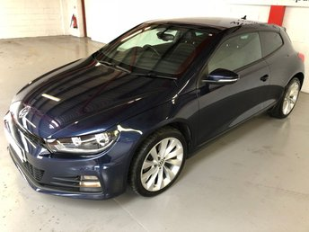 2015 VOLKSWAGEN SCIROCCO 2.0 GT TDI BLUEMOTION TECHNOLOGY 2d 150 BHP £13500.00