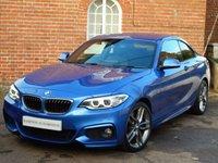 USED 2014 64 BMW 2 SERIES 2.0 228I M SPORT 2d AUTO 241 BHP