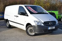 2015 MERCEDES-BENZ VITO 2.1 113 CDI 5d 136 BHP LONG WHEEL BASE LWB £7399.00