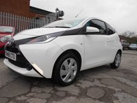 USED 2017 66 TOYOTA AYGO 1.0 VVT-I X-PLAY 3d 69 BHP ONE OWNER 262 MILES FROM NEW !!!!