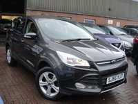 USED 2016 66 FORD KUGA 1.5 ZETEC 5d 118 BHP ANY PART EXCHANGE WELCOME, COUNTRY WIDE DELIVERY ARRANGED, HUGE SPEC