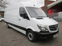 2014 MERCEDES-BENZ SPRINTER 313 CDi LWB High roof 4 metre load length *ONLY 54000 MILES* £12495.00