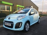 USED 2013 63 CITROEN C1 1.0 VTR 5 DOOR HATCH, ONLY 29,000 MILES, FSH, ZERO ROAD TAX