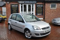 2007 FORD FIESTA 1.6 STYLE 16V 5d AUTO 100 BHP £1995.00