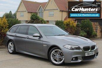 2015 BMW 5 SERIES 2.0 520D M SPORT 4d AUTO 188 BHP £16995.00