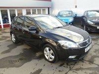 2011 KIA CEED 1.6 2 5d 124 BHP £4695.00