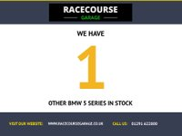 USED 2011 61 BMW 5 SERIES 2.0 520D EFFICIENTDYNAMICS 4d 181 BHP