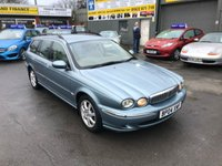 USED 2004 04 JAGUAR X-TYPE 2.0 SE 5 DOOR 130 BHP ESTATE IN METALLIC BLUE WITH 138000 MILES  APPROVED CARS ARE PLEASED TO OFFER THIS  JAGUAR X-TYPE 2.0 SE 5 DOOR 130 BHP ESTATE IN METALLIC BLUE WITH 138000 MILES WITH A LONG MOT UNTIL 07/19 THE CAR DRIVES WELL AND IS IN GOOD CONDITION BUT DUE TO ITS AGE AND MILEAGE IS BEING OFFERED AS A TRADE CLEARANCE CAR WITHOUT WARRANTY.