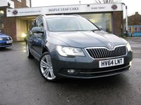 USED 2014 64 SKODA SUPERB 2.0 ELEGANCE TDI CR 5d 168 BHP Massive Spec, Full Dealer History, Beautiful Condition Throughout
