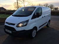 2015 FORD TRANSIT CUSTOM 2.2 270 LR P/V 1d 99 BHP £9695.00