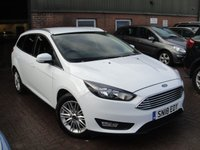 2018 FORD FOCUS 1.0 ZETEC EDITION 5d AUTO 124 BHP £9980.00