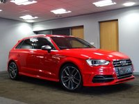 USED 2014 14 AUDI A3 2.0 S3 SPORTBACK QUATTRO 5d AUTO 296 BHP++FULL DEALER SERVICE HISTORY++