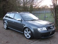 2004 AUDI RS6 AVANT 4.2 RS6 AVANT QUATTRO 5d 444 BHP £8995.00