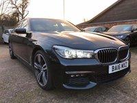 2016 BMW 7 SERIES 3.0 730D XDRIVE M SPORT 4dr AUTO  £30900.00