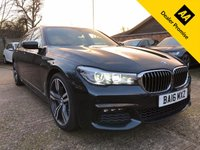 USED 2016 16 BMW 7 SERIES 3.0 730D XDRIVE M SPORT 4dr AUTO  Over £8k options, Head up, Glass Sunroof, Massage seats, Harman Kardon, Soft closure etc