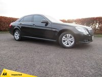 USED 2010 10 MERCEDES-BENZ E CLASS 2.1 E220 CDI BLUEEFFICIENCY SE 4d AUTOMATIC LEATHER  INTERIOR with HEATED SEATS