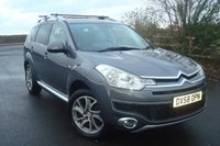 2008 CITROEN C-CROSSER 2.2 EXCLUSIVE HDI 5d 155 BHP £4295.00