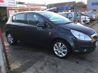 USED 2010 10 VAUXHALL CORSA 1.4 SE 5d AUTO 98 BHP Automatic, 5 door, 54000 miles, superb. Alloys, air/con, half leather, superb.