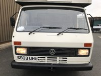 USED 1989 VOLKSWAGEN LT 2.4 Full Engine Rebuild Working Tail-lift Body Sound 1 Year MOT