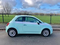 2016 FIAT 500 1.2 LOUNGE 3d 69 BHP £7495.00