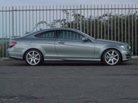 USED 2015 15 MERCEDES-BENZ C CLASS 2.1 C220 CDI AMG SPORT EDITION PREMIUM PLUS 2d AUTO 168 BHP