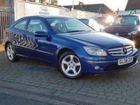 2008 MERCEDES-BENZ CLC CLASS 1.8 CLC200 KOMPRESSOR SE 3d AUTO 184 BHP £4900.00